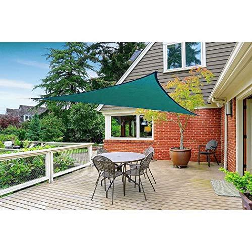 dalina 9.8 x 9.8 ft Triangle Shape UV Protection Outdoor Sunscreen Awning Canopy Shade Sails