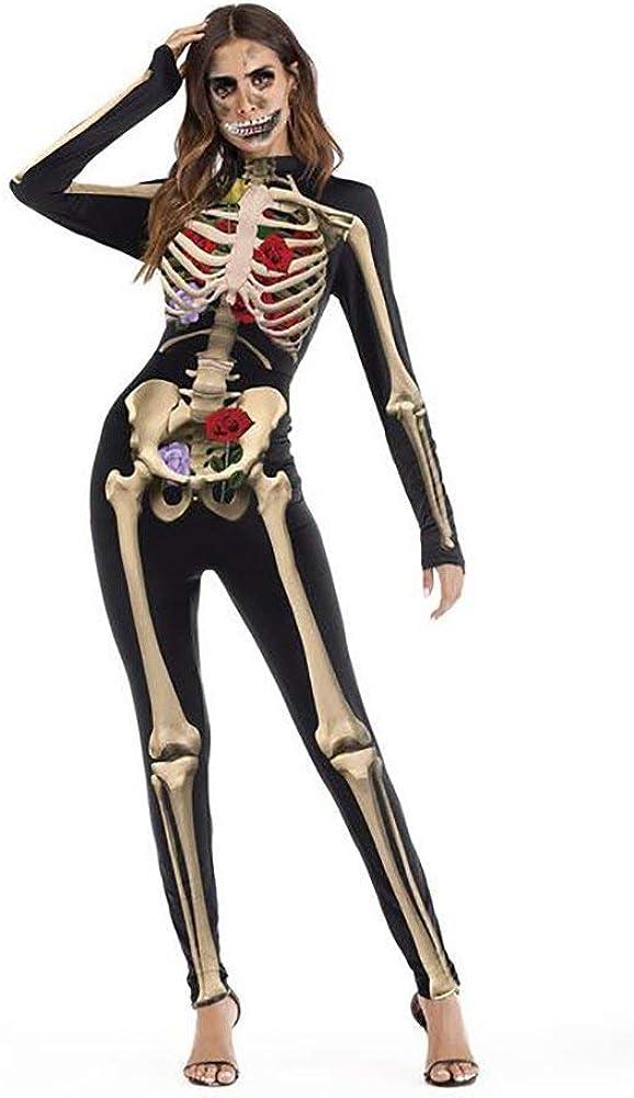 Mujer Esqueleto Ropa Otoño Invierno Elegantes Vintage Gótica ...
