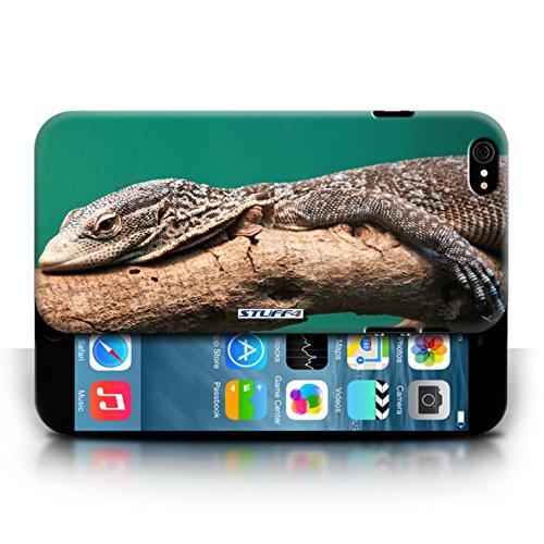 Kobalt Lucertola stampato Custodia Cover per Apple iPhone 6/6S cellulari telefoni / Collezione Animali selvatici
