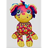 Flip Zee Pets Lilly Puppy Plush Toy by Jay at Play - Flowered Puppy Transforms 3 Ways for Fun & Play
