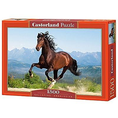 Castorland C 150755 2 Galoppante Andaluso 1500 Pezzi Puzzle Classic