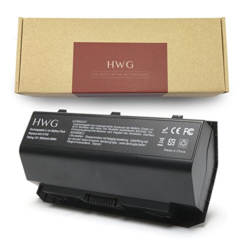 HWG A42-G750 Battery  for Asus G750 G750J G750JZ G750JXW G75