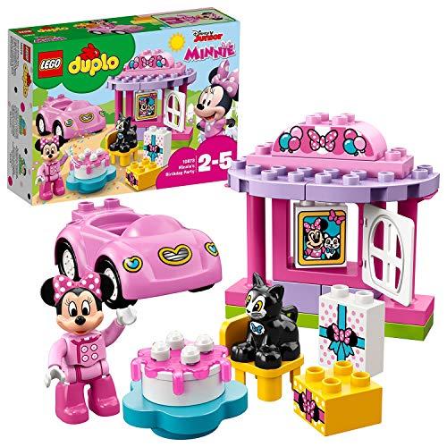 LEGO10873DUPLODisneyMinnie'sVerjaardagsfeestBouwsetmetMinnieMouse,Educatief Speelgoedvoorkinderenvan2-5jaar