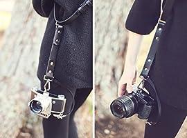 Arnés de doble cámara personalizable, doble arnés de piel ...