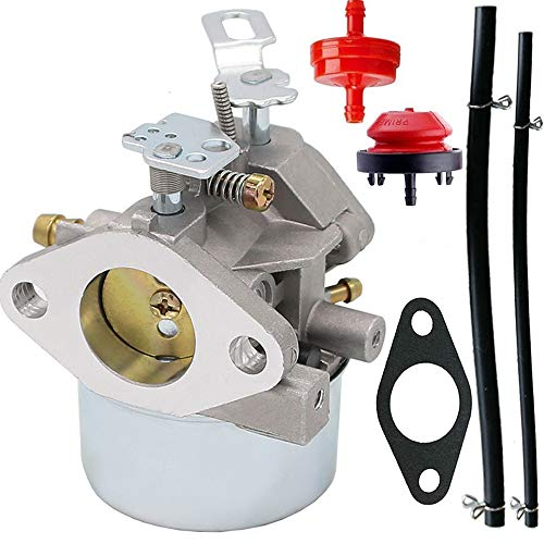 (640052 Carburetor for Tecumseh HMSK80 HMSK90 8hp 9hp 10hp LH318SA LH358SA for Snow Blower Generator Chipper Shredder 640054 640349 640058 640058A Oregon 50-659 STENS 520-926 Carb)