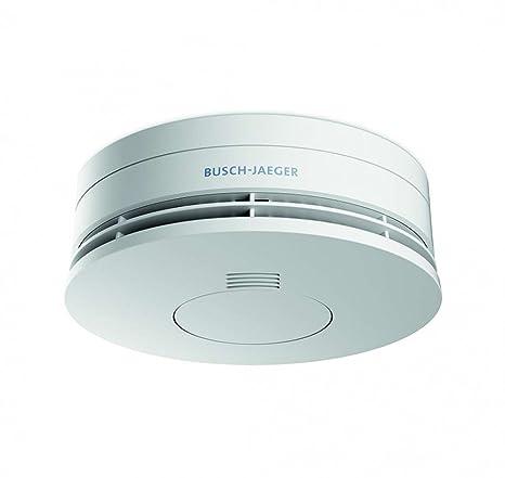 Busch-Jaeger 6800-0-2718 Sensor óptico - Detector de humo (Batería