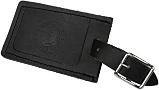 product image for Duluth Pack Luggage Logo Tag (Black Leather)