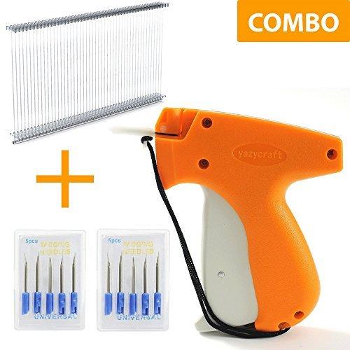 YazyCraft Tagging Gun Pricetag Gun Tag Gun with 10 Replacement Needles Kit with 1000 2