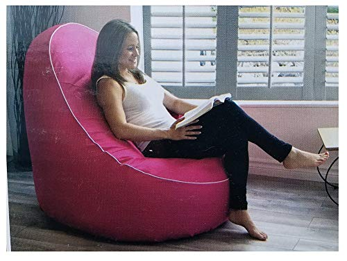 JILONG AVENLI Garden Pool Inflatable Lounge Chair Water Proof, UV Resistance Color: Pink New