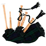 Kids Playable Bagpipe/Junior Playable Bagpipes/Child Toy Bagpipe Various Tartans (Black Watch)