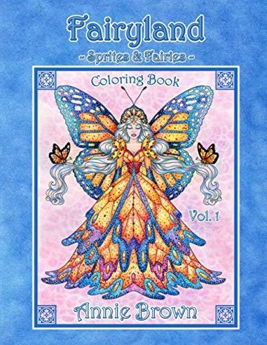 Sprite Brownies - Fairyland -Sprites and Fairies- Coloring Book Vol. 1: Fairies, sprites, gnomes, brownies and more. Annie Brown Coloring Books