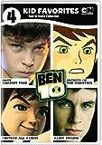 4 Kid Favorites: Ben 10 Movies (DVD)