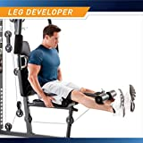 Marcy 150lb. Stack Home Gym with Pulley, Arm, and