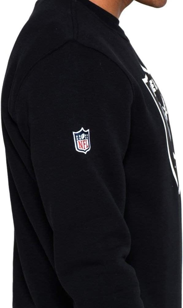 New Era Team Logo Crew Oakland Raiders Homme Sweat-shirt Manches longues