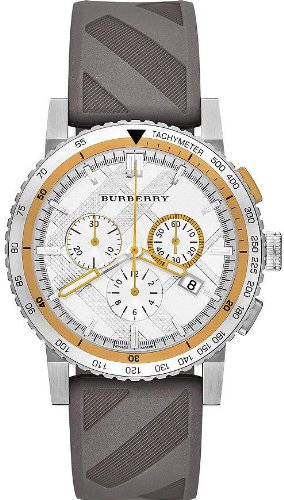 Burberry The New City Rubber Chronograph Unisex Watch BU9811