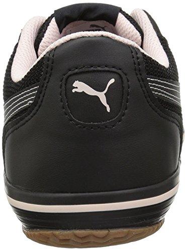 PUMA Mens Astro Sala Sneaker, Black-Pearl, 12 M US
