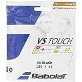 Babolat VS Touch Tennis String 16 Gauge in Black