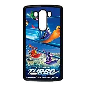 LG G3 Cell Phone Case Black turbo Movie Dreamworks kyq
