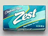 (PACK OF 57 BARS) Zest AQUA Deodorant Bar Soap with Vitamin E. All-in-one exfoliating & moisturizing soap Leaves Skin Smooth & Radian! Great for Hands, Face & Body! (57 Bars, 3.20oz Each Bar)