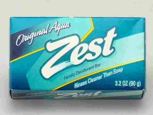 (PACK OF 57 BARS) Zest AQUA Deodorant Bar Soap with Vitamin E. All-in-one exfoliating & moisturizing soap Leaves Skin Smooth & Radian! Great for Hands, Face & Body! (57 Bars, 3.20oz Each Bar) by Procter & Gamble