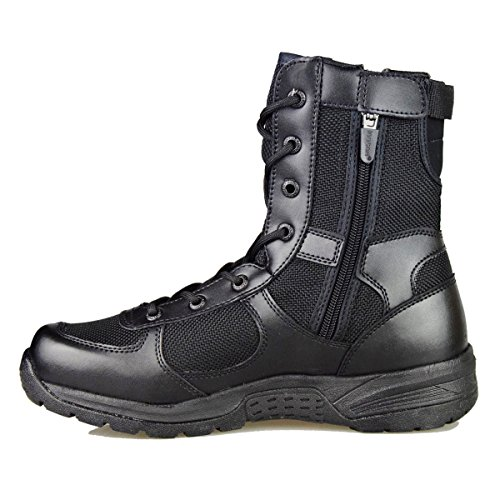 GRAMOT Men's ETB Jungle Boots&Desert Tactical Outdoor Combat Boots(Black) …