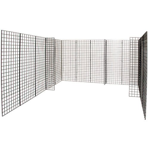 Grid Gridwall Trade Show Booth Merchandise Display Unit 10' x 10' Ships Freight New by Bentley's Display