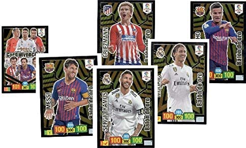 Adrenalyn XL Lote de 5 Balones deORO mas la Card Invencible ...