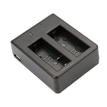 Homyl Cargador de Batería Dual Portàtil de Ranura USB para ...