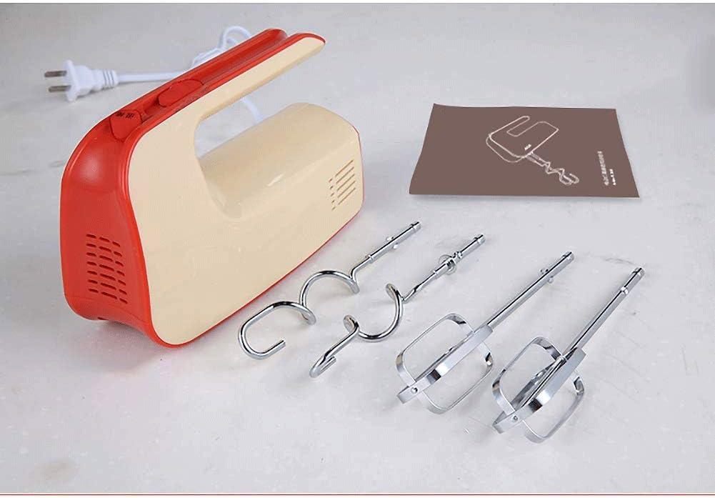 TUYIROE Mezclador manual, batidora eléctrica profesional de mano ...
