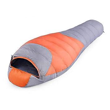 LAIABOR Saco De Dormir Sleeping Ultra Light Compact Bags Perfect For Hiking Camping Travel,Orange: Amazon.es: Deportes y aire libre
