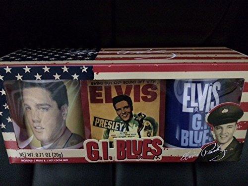 Presley Cocoa - Elvis Presley 'GI Blues' mugs and cocoa
