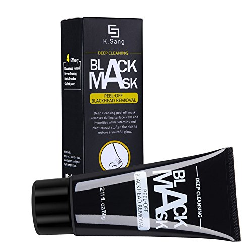 ROPALIA Activated Carbon Blackhead Remover Cream Deep Clean Purifying Peel Acne Mud Face Mask