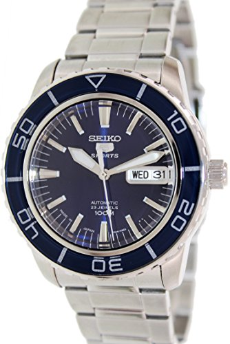 eiko 5 Automatic Dark Blue Dial Stainless Steel Watch (5 Sports Automatic Blue Dial)