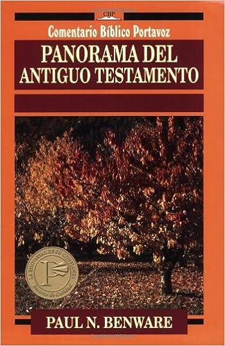 Descargas de libros electrónicos más vendidos Panarama Del Antiguo Testamento (Comentario Biblico Portavoz) PDF DJVU FB2