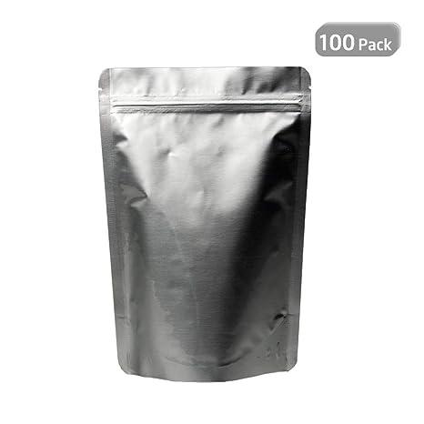 Womdee Bolsas de Papel de Aluminio para envasar Alimentos ...