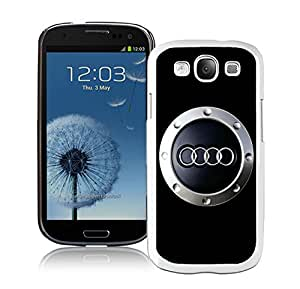 Nice and Grace Case Audi logo 4 Samsung Galaxy S3 I9300 Phone Case in White