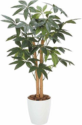 光触媒 人工観葉植物 光の楽園 パキラトピアリー 1.2m 193A180 B01KZEI93A 1.2m(トピアリー)  1.2m(トピアリー)