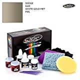 Dodge RAM/White Gold MET - PWL/Color N Drive Touch UP Paint System for Paint Chips and Scratches/PRO Pack