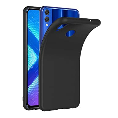 release date: ed2f0 c4caf AICEK Case for Honor 8X, Black Silicone Cover for Huawei Honor 8X ...