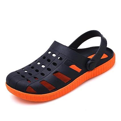Beatalvy Botines Antideslizantes de Verano con Suela Suave en el Fondo Jeans-Zapatos de Sandbeach