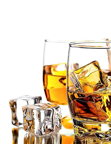 (Clear Fake Ice Cubes, 20 PCS 0.8