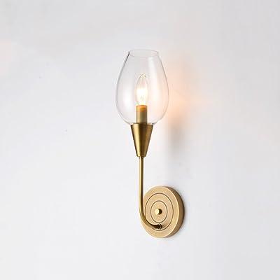 1411 Lampes Murales En Cuivre Postmoderne Lumière Salon De Luxe