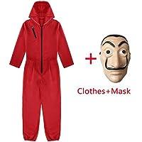 Amycute 2 PCS Traje de Disfraz con Máscara