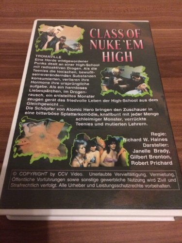 Class of Nuke 'Em High [VHS]