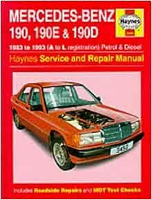 Werkstatthandbuch Mercedes W 201 -- - 1.Serie 190-190 E