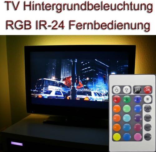 Set ~ 40 – 42 TV IR 24 RGB LED luz de Fondo Background Light: Amazon.es: Electrónica