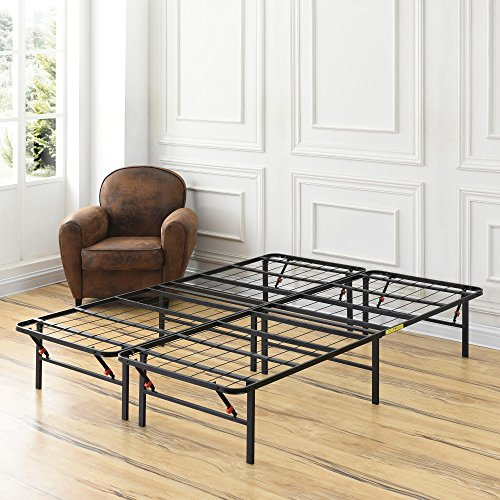 King Metal Bed Frames (Classic Brands Hercules Heavy-Duty 14-Inch Platform Metal Bed Frame | Mattress Foundation, California King)