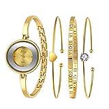 Sunward Women Ladies Tibetan Style Giraffe Knitted Bracelet Wrist Watch (LXL60323018)