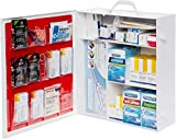 Dechoker Office First Aid Kit - Includes Adult Anti Choking Device and 25 First Aid Products Like Scissors Bandages Pain Relievers and More - Safe, Effective Way to Keep Your Family Safe