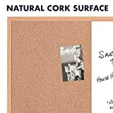 "Quartet Combination Whiteboard & Corkboard, 23"" x"